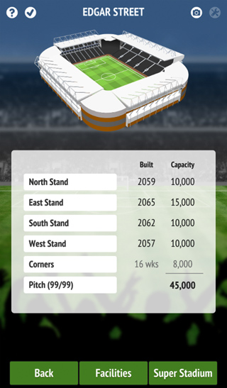 3D stadium graphics